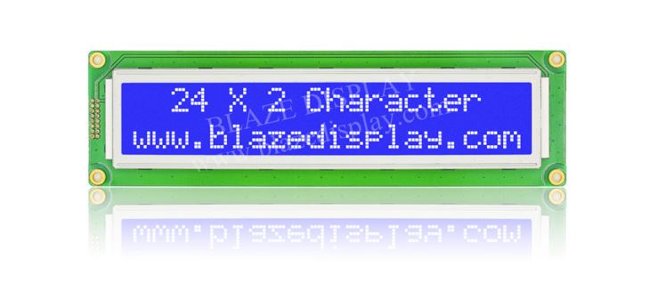 24x2 Serial Character LCD Module