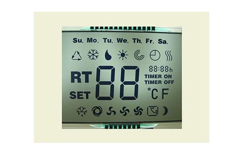 Panneau de verre d'affichage LCD FSTN