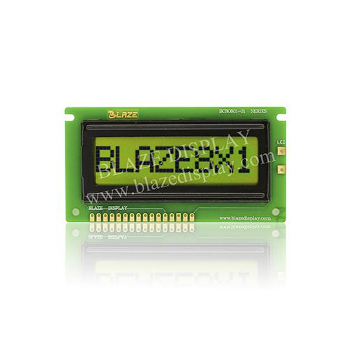 Module LCD à caractères série 8X1