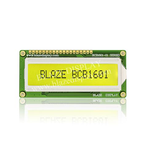 Module LCD à caractères série 16X1