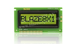 8X1 Serial Character LCD Module