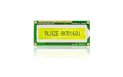 16x1 Serial Character LCD Module