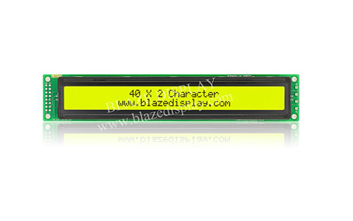 40x2 Serial Character LCD Module