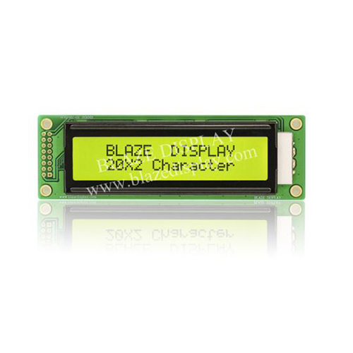 20x2 Serial Character LCD Module