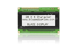 20x4 Serial Character LCD Module