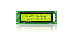 20x1 Serial Character LCD Module