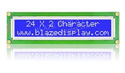 Módulos alfanuméricos de 24x2