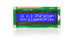 16x2 Serial Character LCD Module