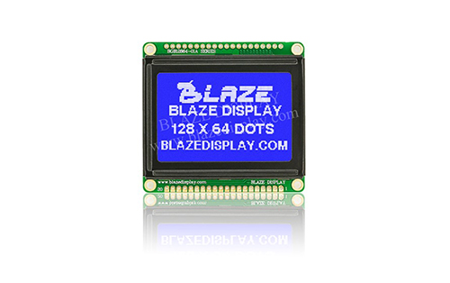 128x64 Serial Graphic LCD Module