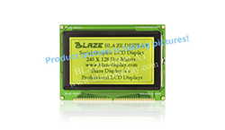 240x128 Serial Graphic LCD Module
