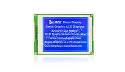 320x240 Serial Graphic LCD Module