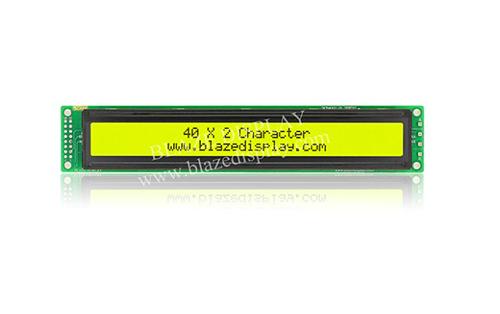 Module LCD à caractères série 40X2